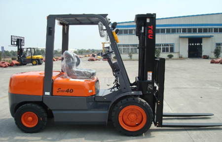 4 ton second hand forklift for sale